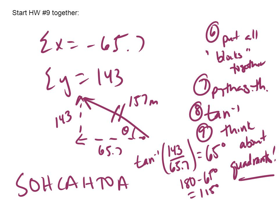 Start HW #9 together:
