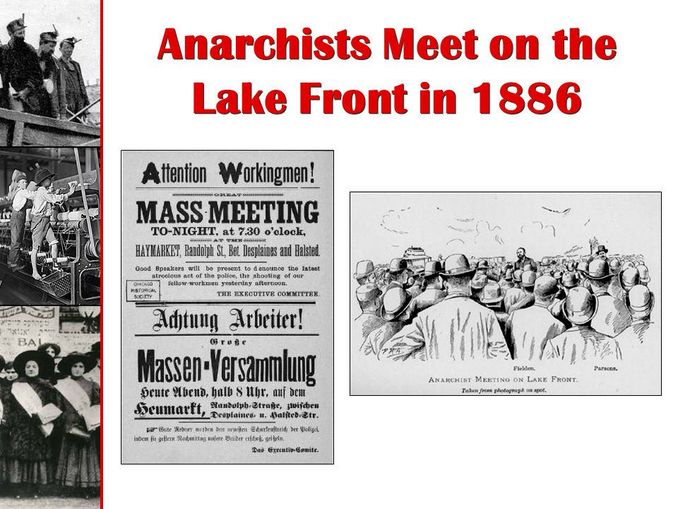 Anarchists Meet on the Lake Front in 1886