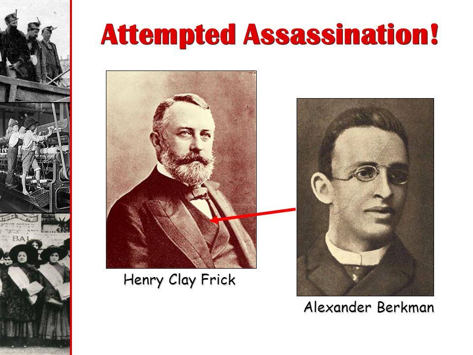 Attempted Assassination!