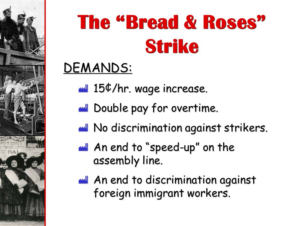 The Bread & Roses Strike