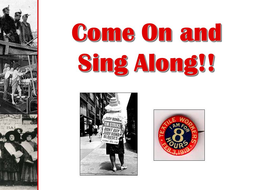 Come On and Sing Along!!