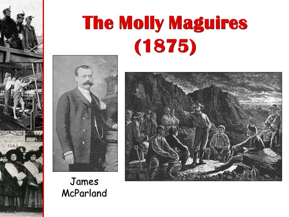 The Molly Maguires (1875) James McParland
