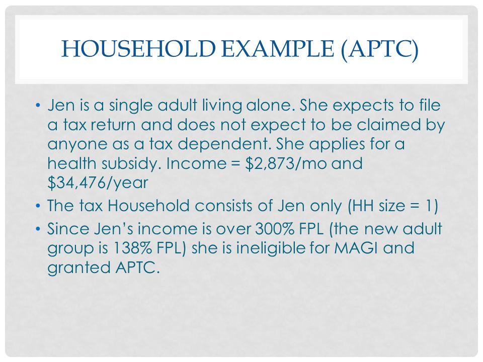 Household Example (APTC)