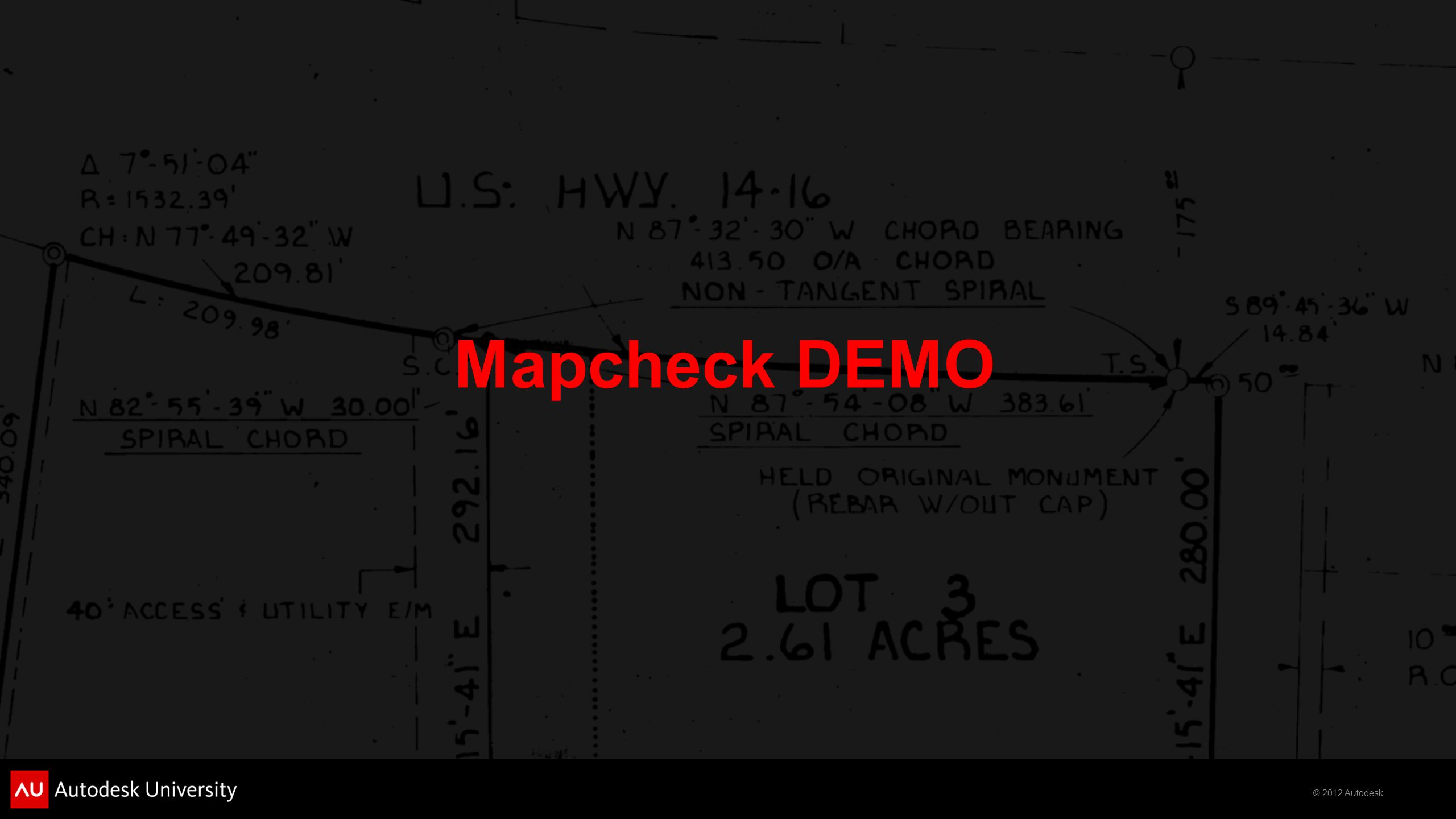 Mapcheck DEMO