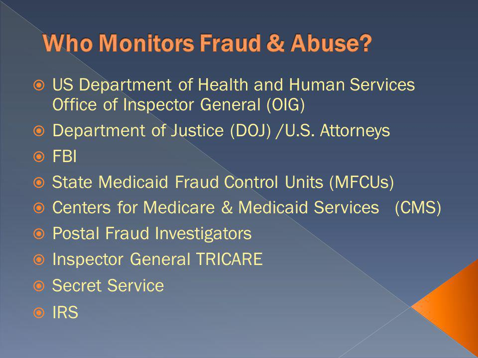 Incentives to report fraud