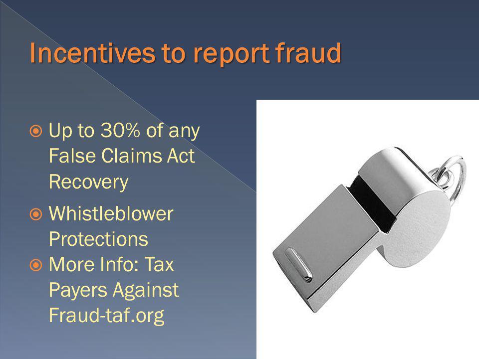 Examples of Fraudulent Activities: