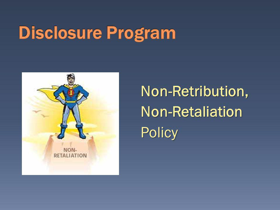 Disclosure The toll-free confidential compliance line is: 1 -866-229-8050.