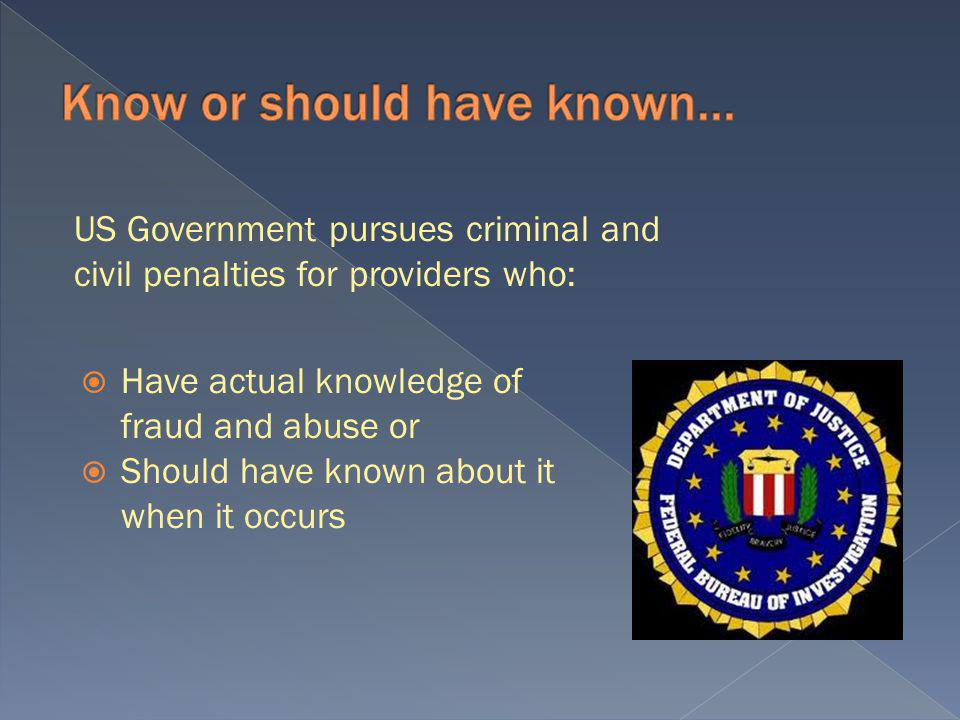 You do not have to intend to defraud the Government to violate the False Claims Act.