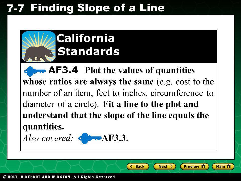 California Standards.