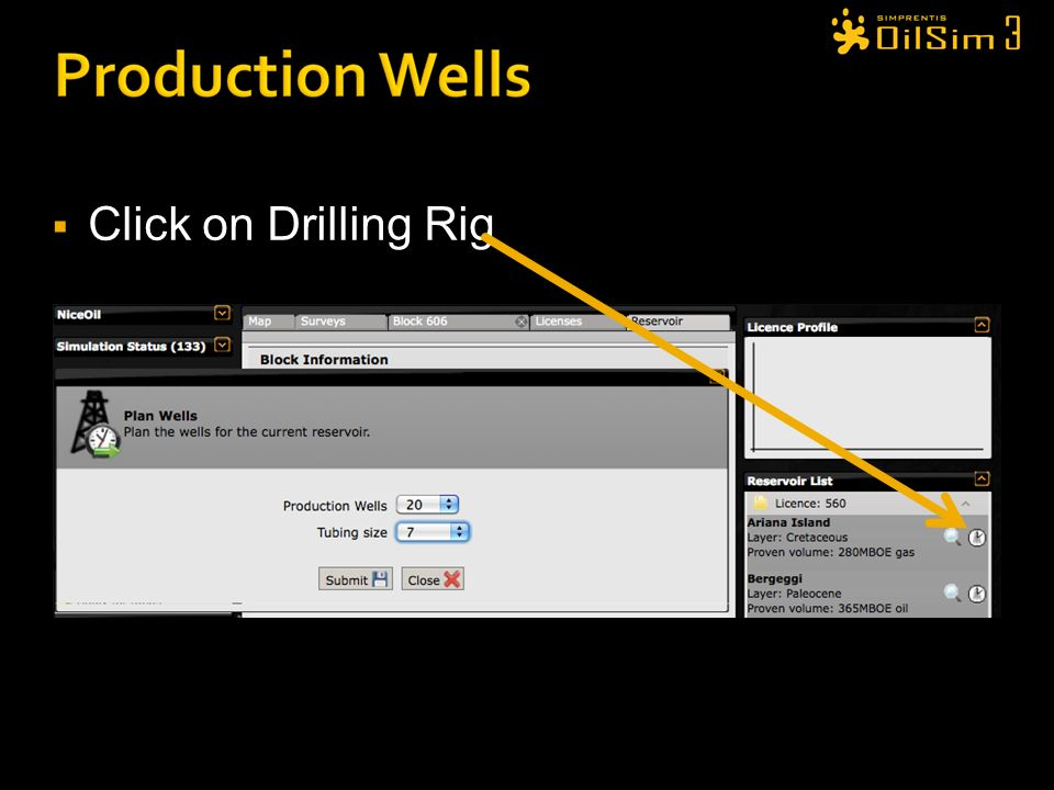 Click on Drilling Rig