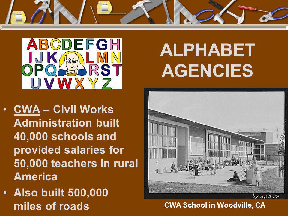 CWA School in Woodville, CA