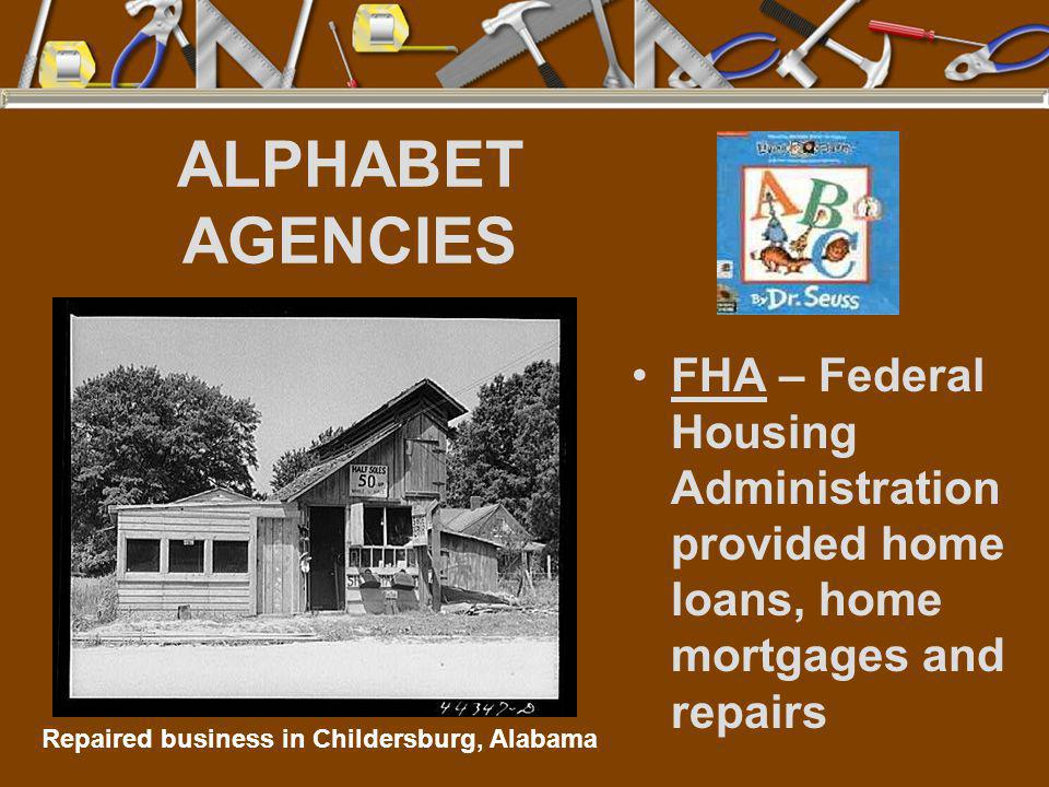 Repaired business in Childersburg, Alabama
