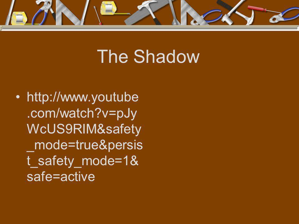 The Shadow http://www.youtube.com/watch v=pJyWcUS9RIM&safety_mode=true&persist_safety_mode=1&safe=active.