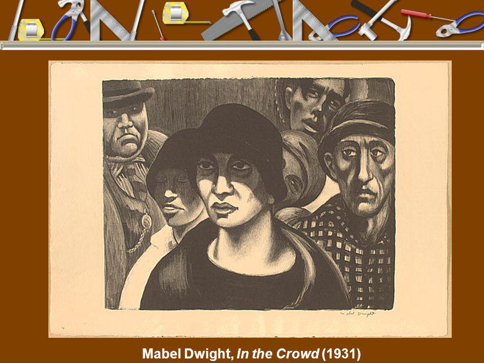 Mabel Dwight, In the Crowd (1931)