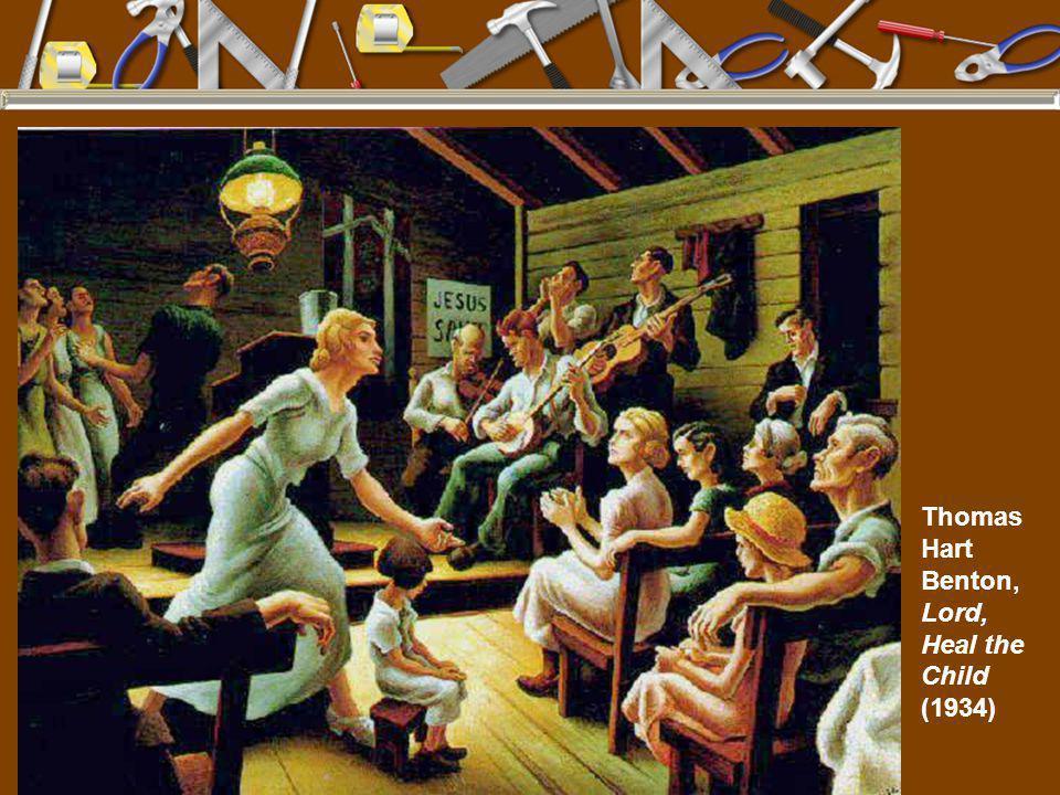 Thomas Hart Benton, Lord, Heal the Child (1934)