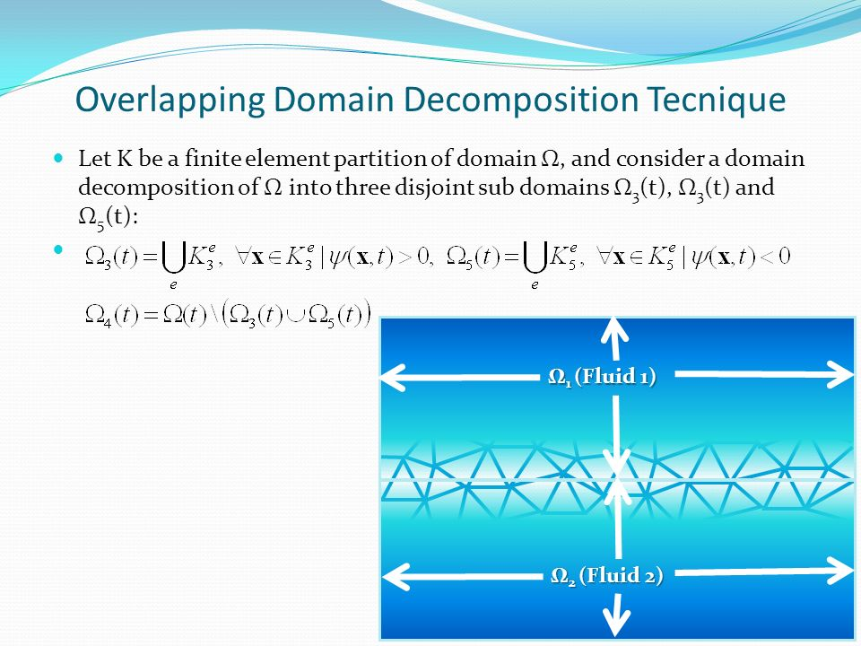 Overlapping Domain Decomposition Tecnique