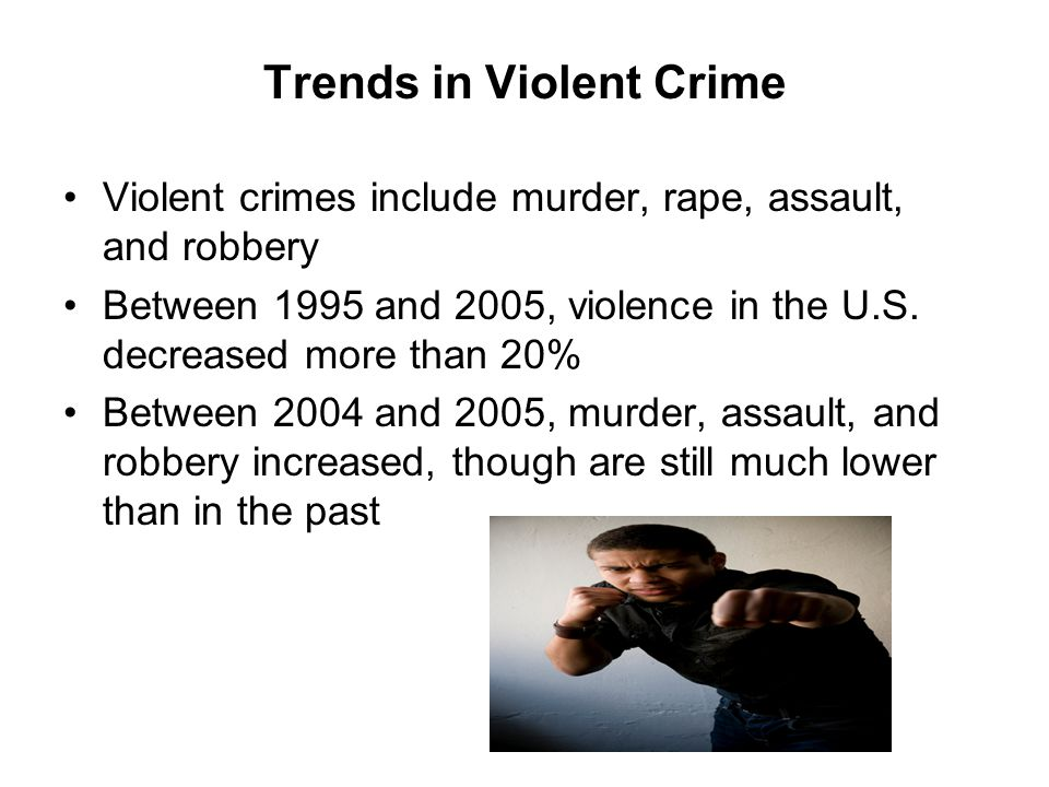 Trends in Violent Crime