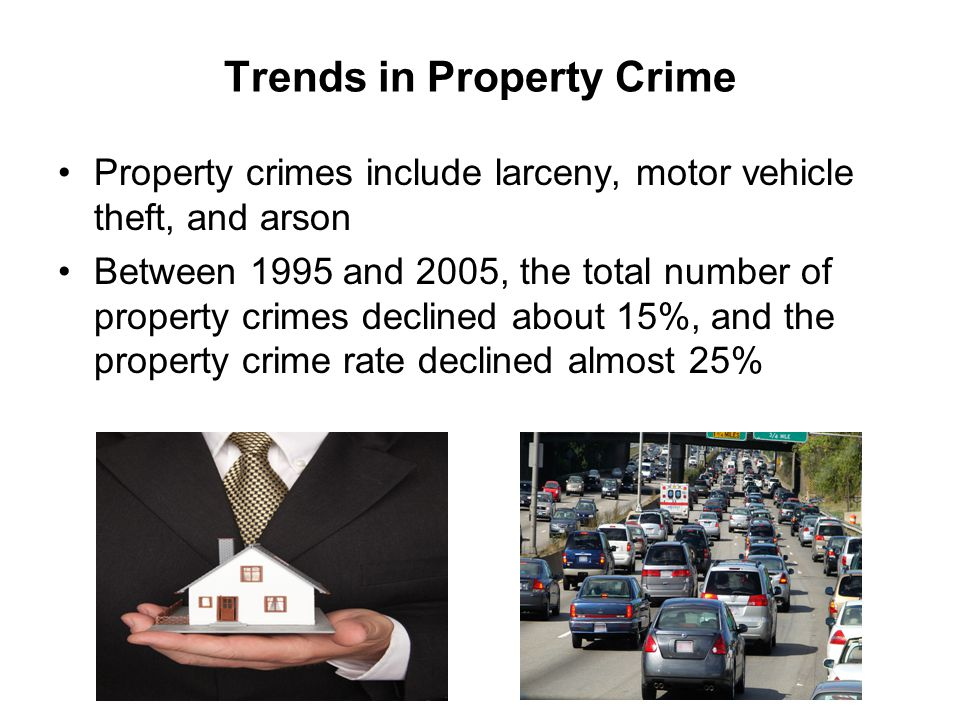 Trends in Property Crime