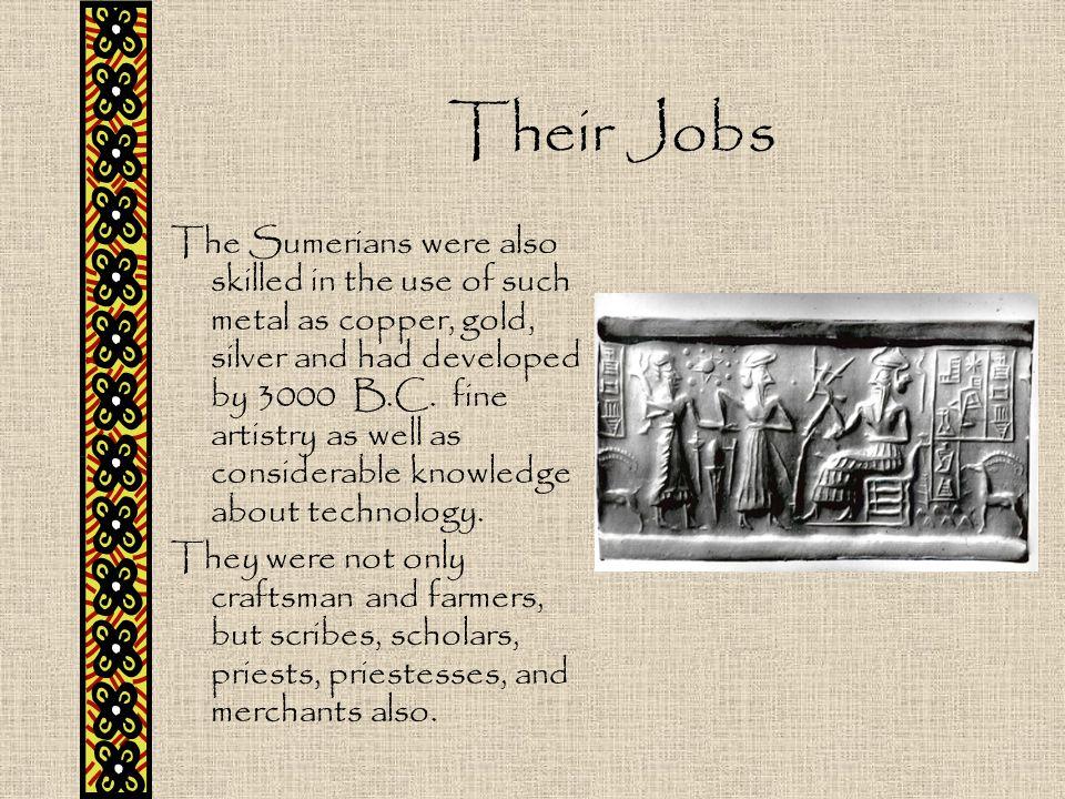 Their Jobs