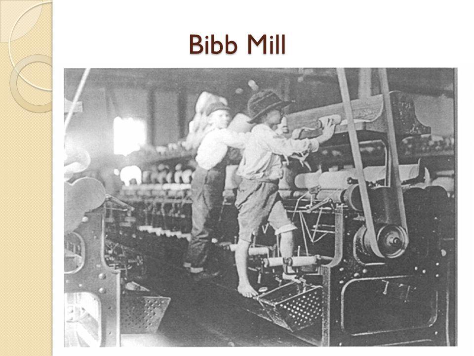 Bibb Mill Bibb Mill, Macon, Georgia, 1909.
