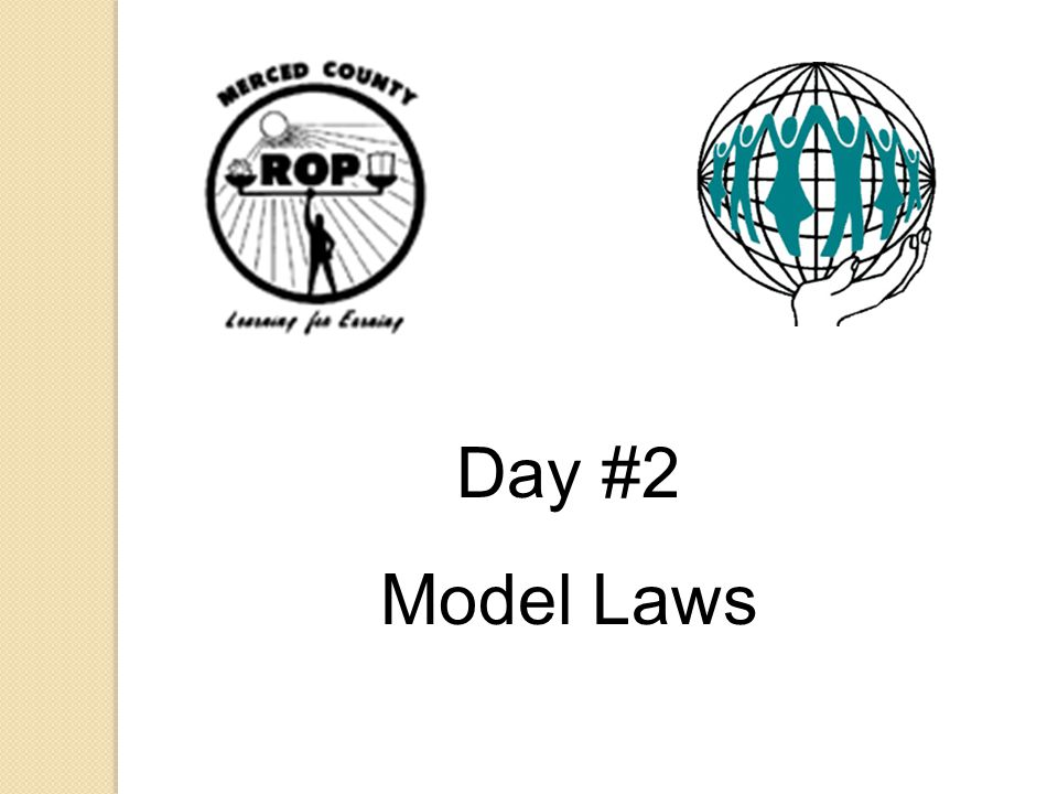 Day #2 Model Laws Show the Video: Your Work—Keepin' It Safe.