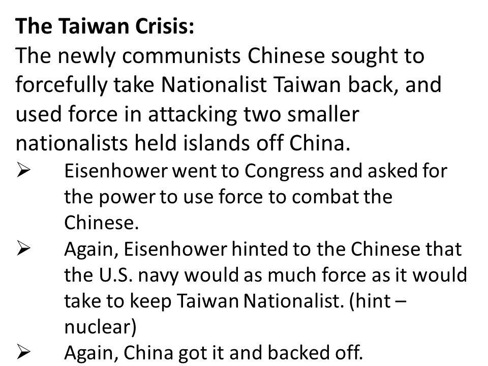 The Taiwan Crisis: