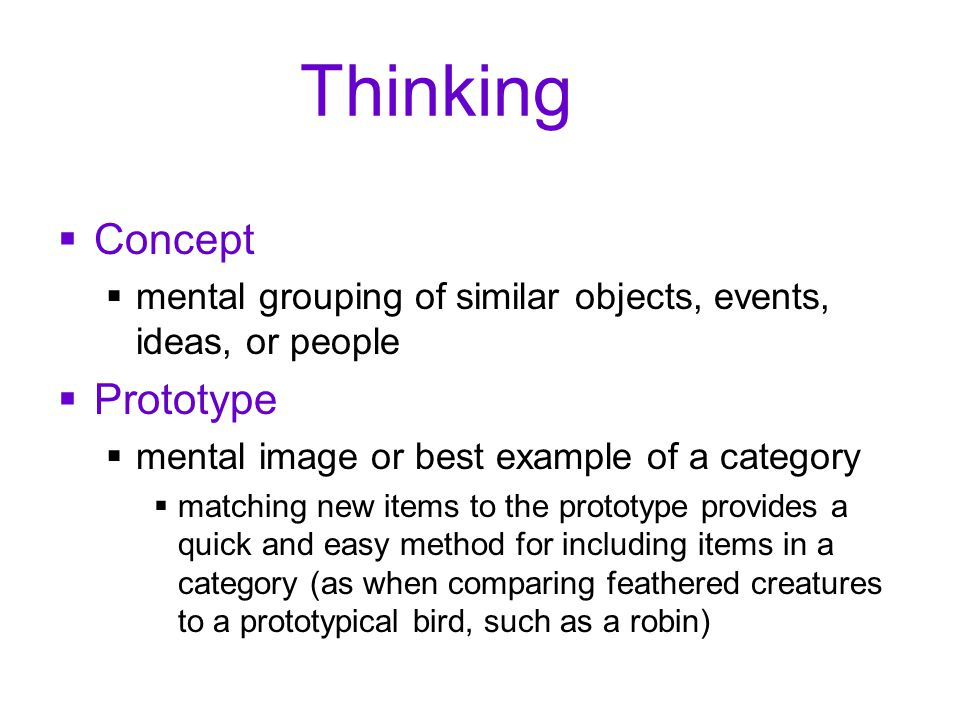 Thinking Concept Prototype