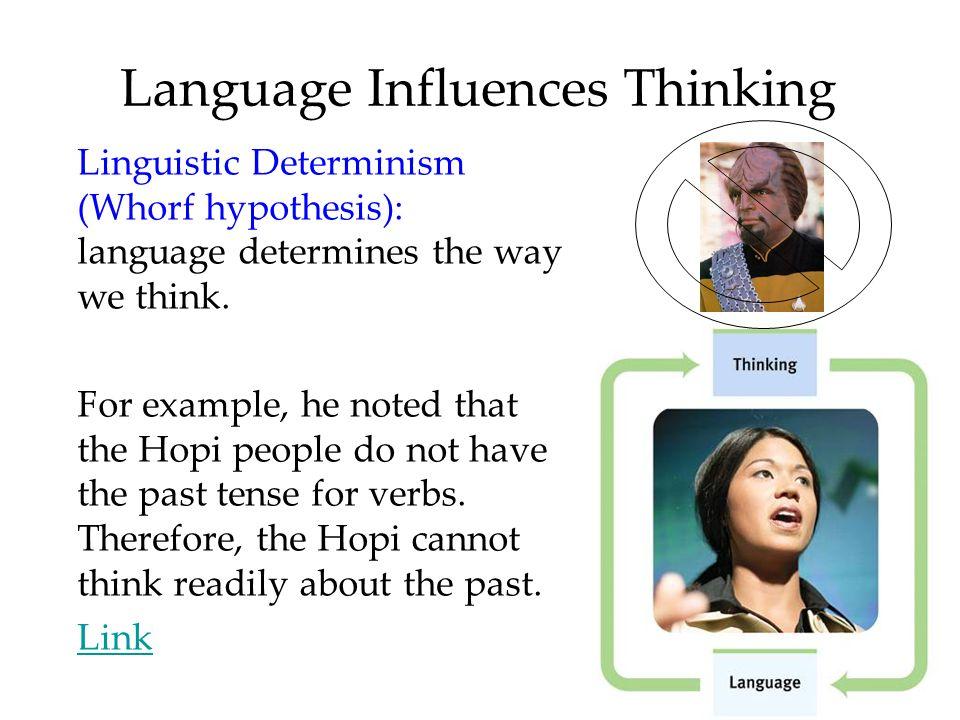 Language Influences Thinking