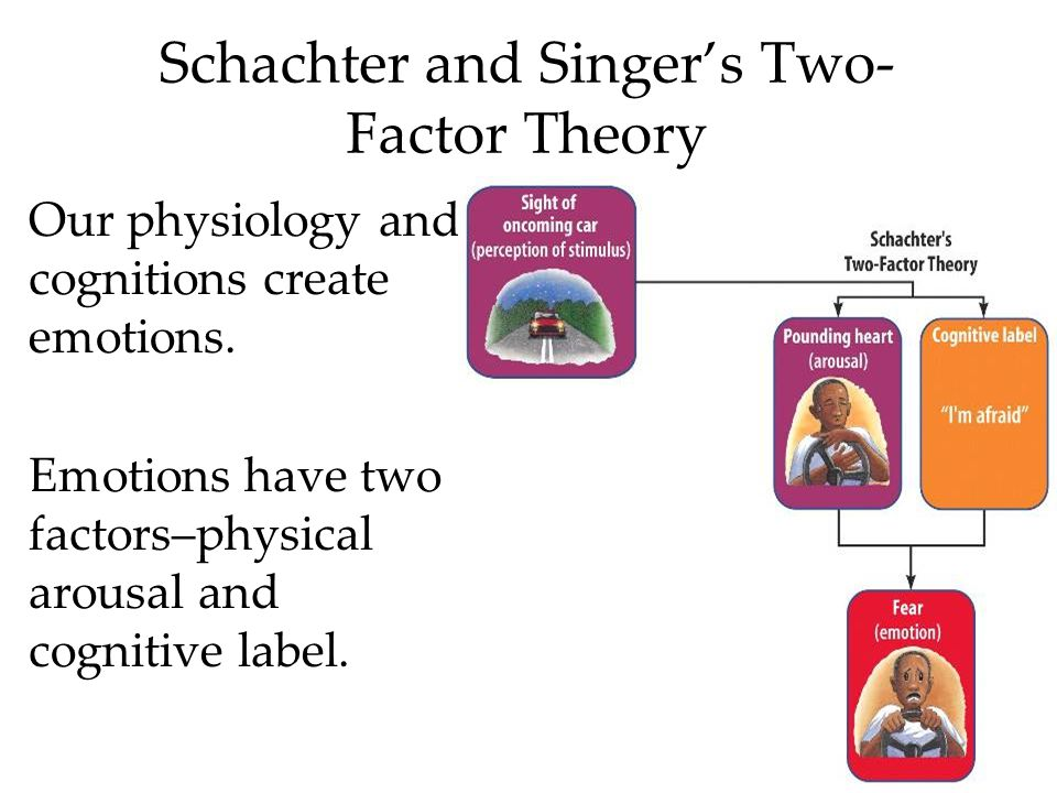 Schachter and Singer's Two-Factor Theory