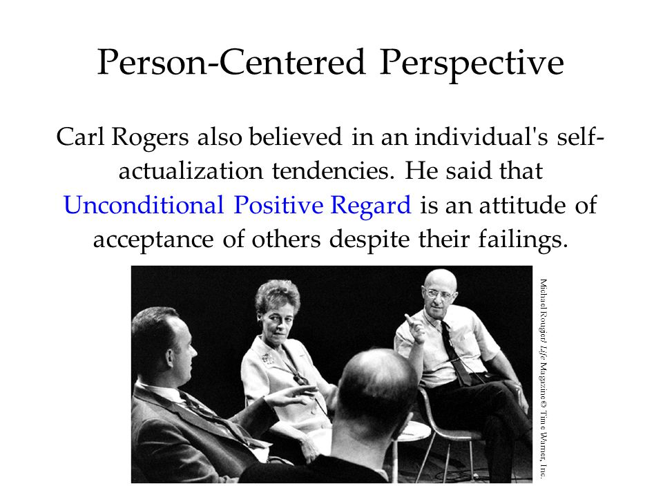 Person-Centered Perspective