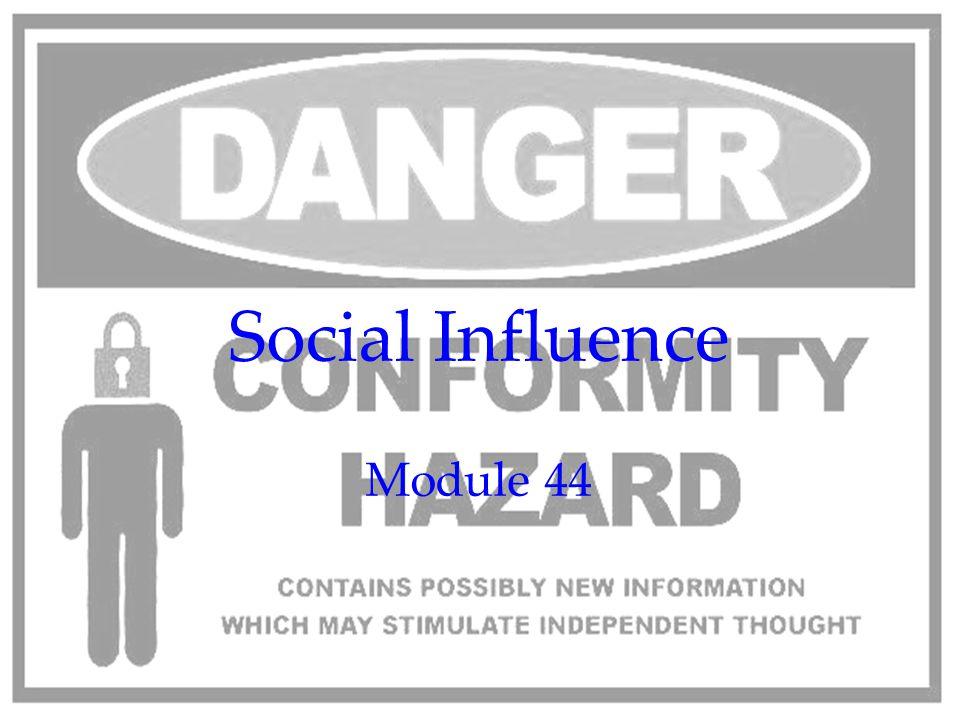 Social Influence Module 44