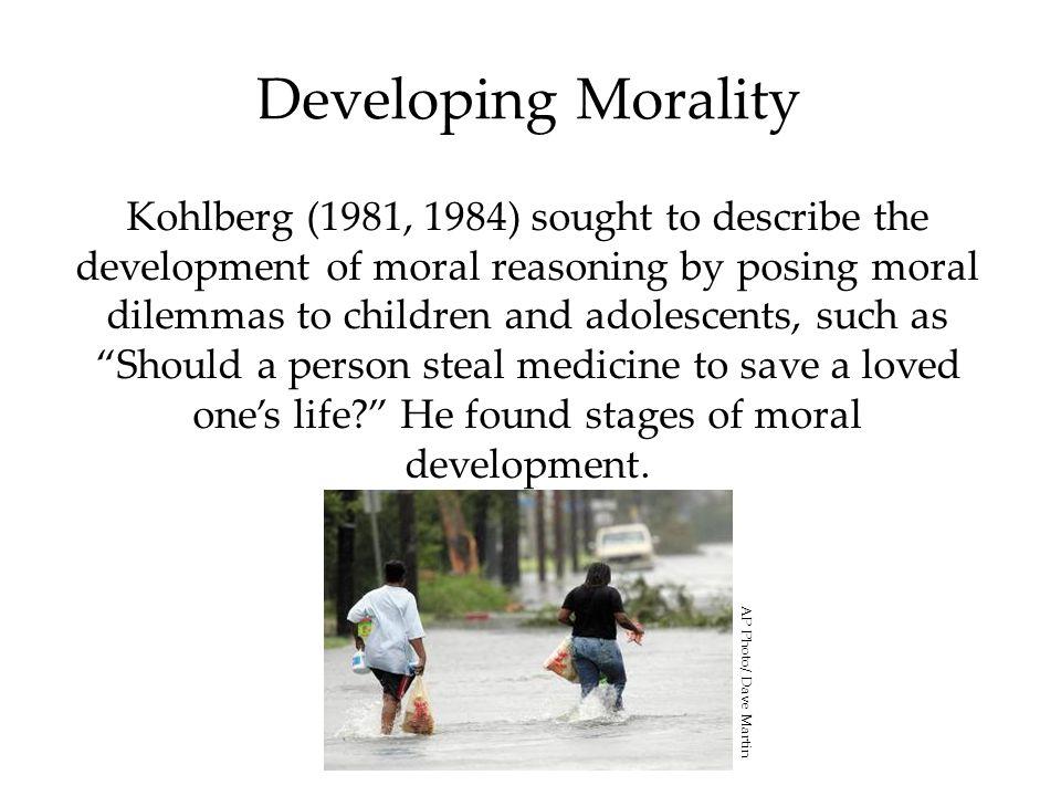 Developing Morality