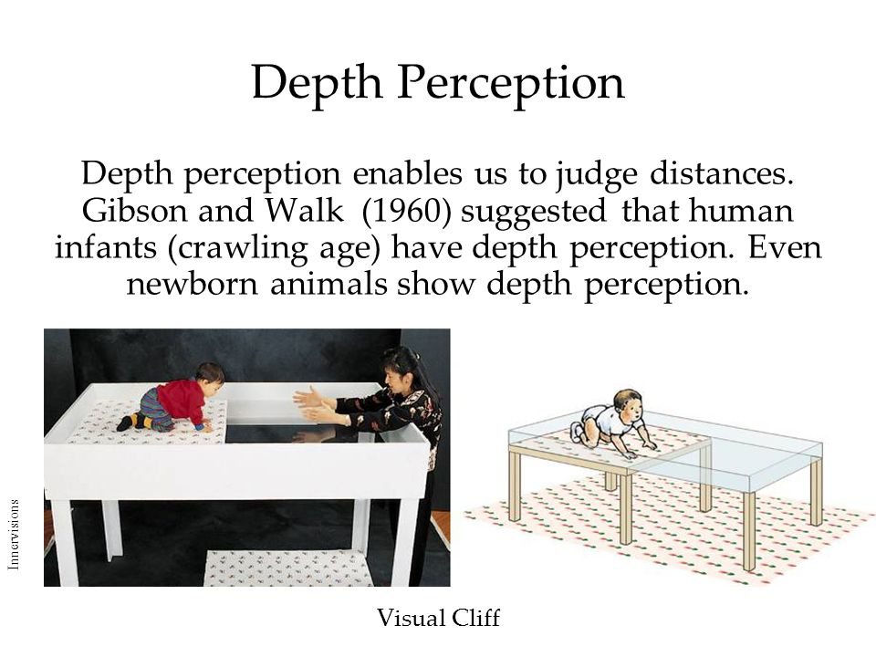 an examination on depth perception Depth perception through motion (academic press series in cognition and perception) sep 13, 1976 by myron l braunstein hardcover  the effect of racial prejudice on visual depth.