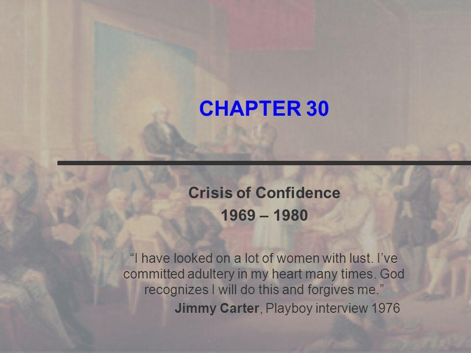 Jimmy Carter, Playboy interview 1976