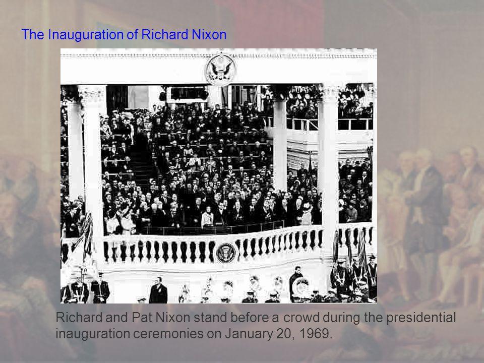 The Inauguration of Richard Nixon