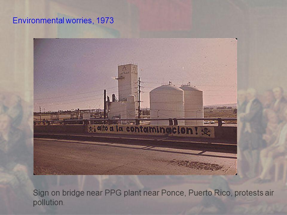 Environmental worries, 1973