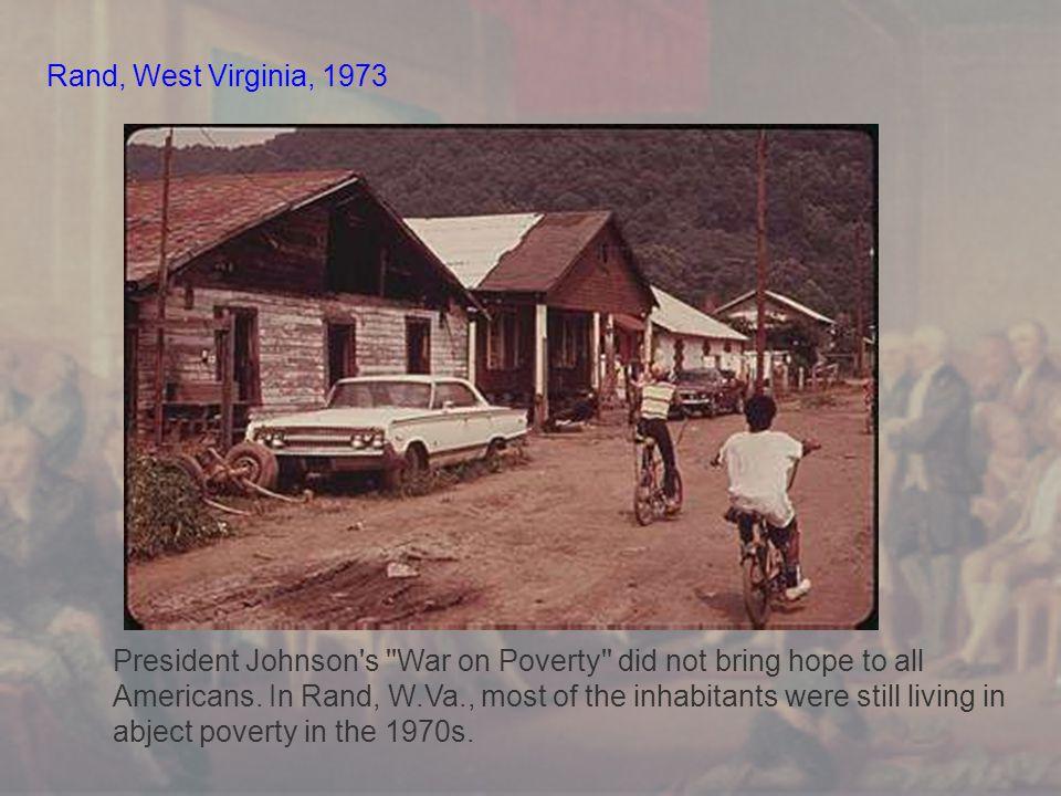 Rand, West Virginia, 1973