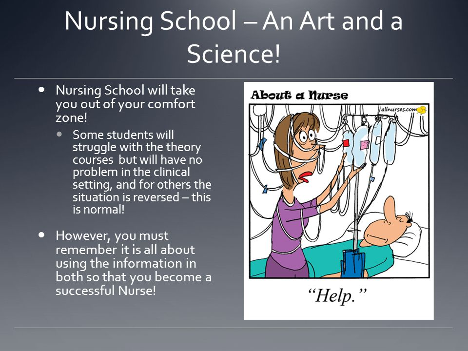 Nursing School – An Art and a Science!