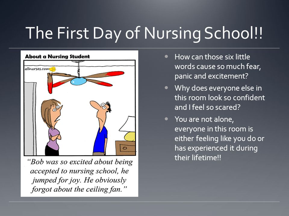 The First Day of Nursing School!!