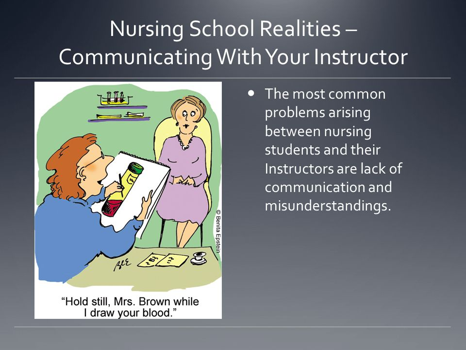 Nursing School Realities – Communicating With Your Instructor