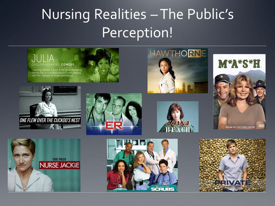 Nursing Realities – The Public's Perception!