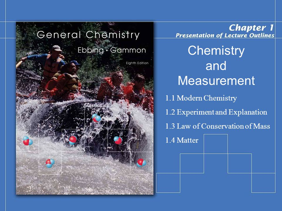 Chemistry and Measurement