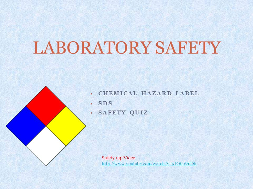 Chemical Hazard Label SDS Safety Quiz
