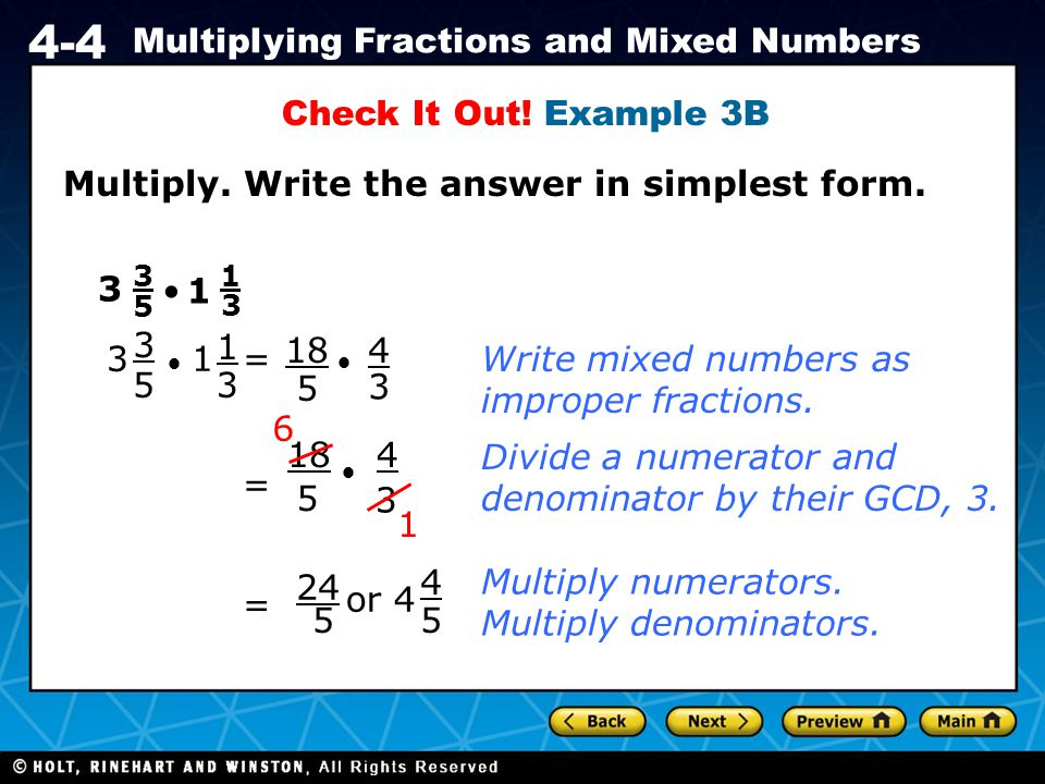 Multiply. Write the answer in simplest form.