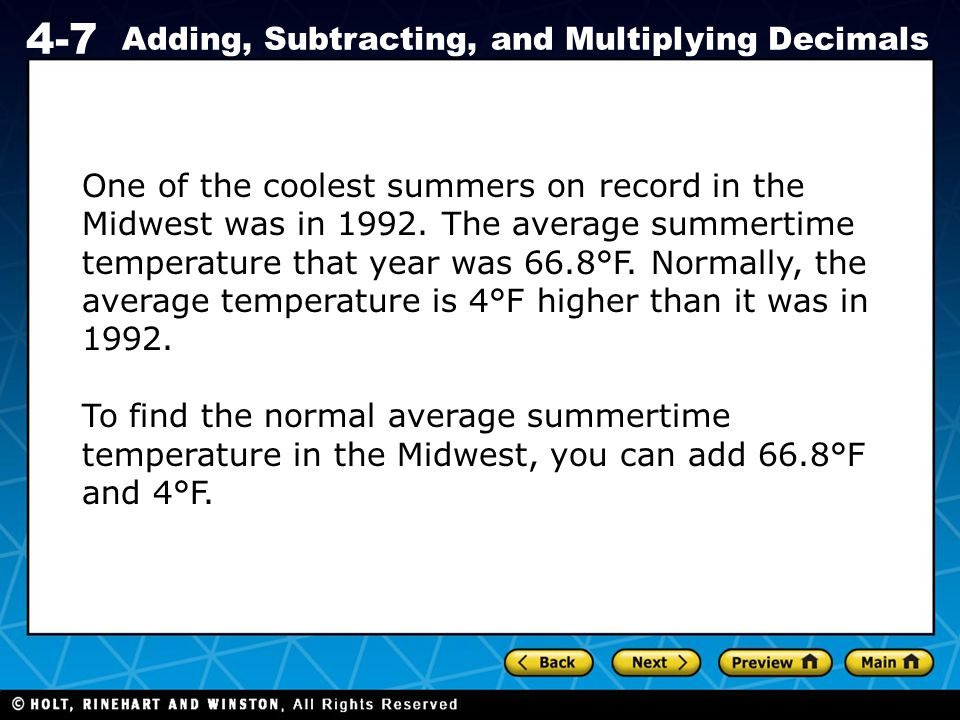 One of the coolest summers on record in the Midwest was in 1992