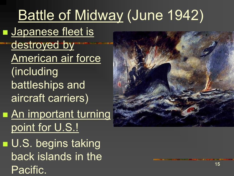 Battle of Midway (June 1942)