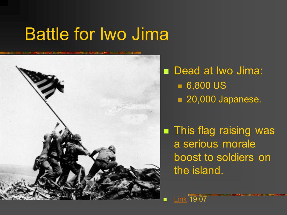 Battle for Iwo Jima Dead at Iwo Jima: