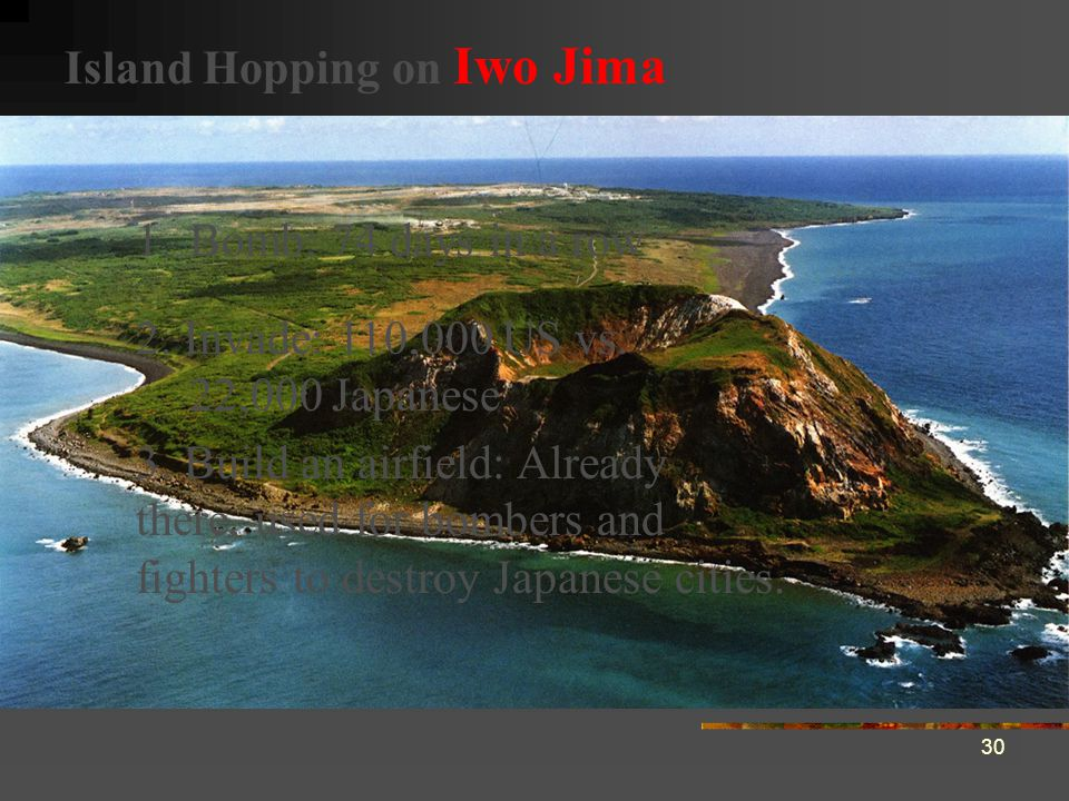 Island Hopping on Iwo Jima