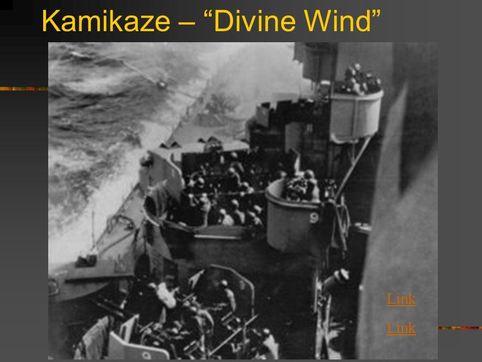 Kamikaze – Divine Wind