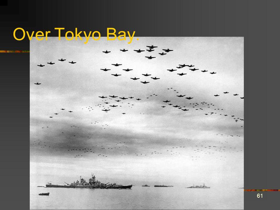 Over Tokyo Bay. 61